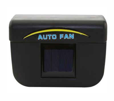 Car Ventilation Auto Solar Fan 0.5W - Black
