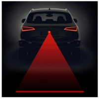 Red Laser Fog Warning Light For Car & Bike
