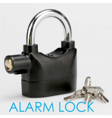 Anti Theft Alarm Security Lock