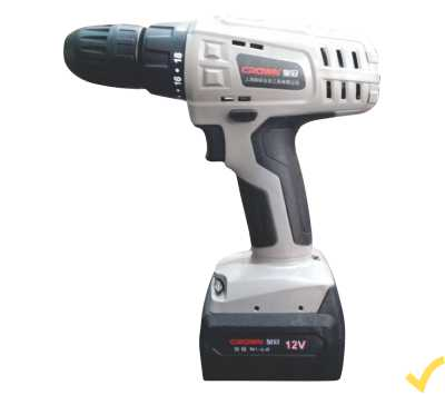 Crown Cordless Drill D1210ANI Extra Battery