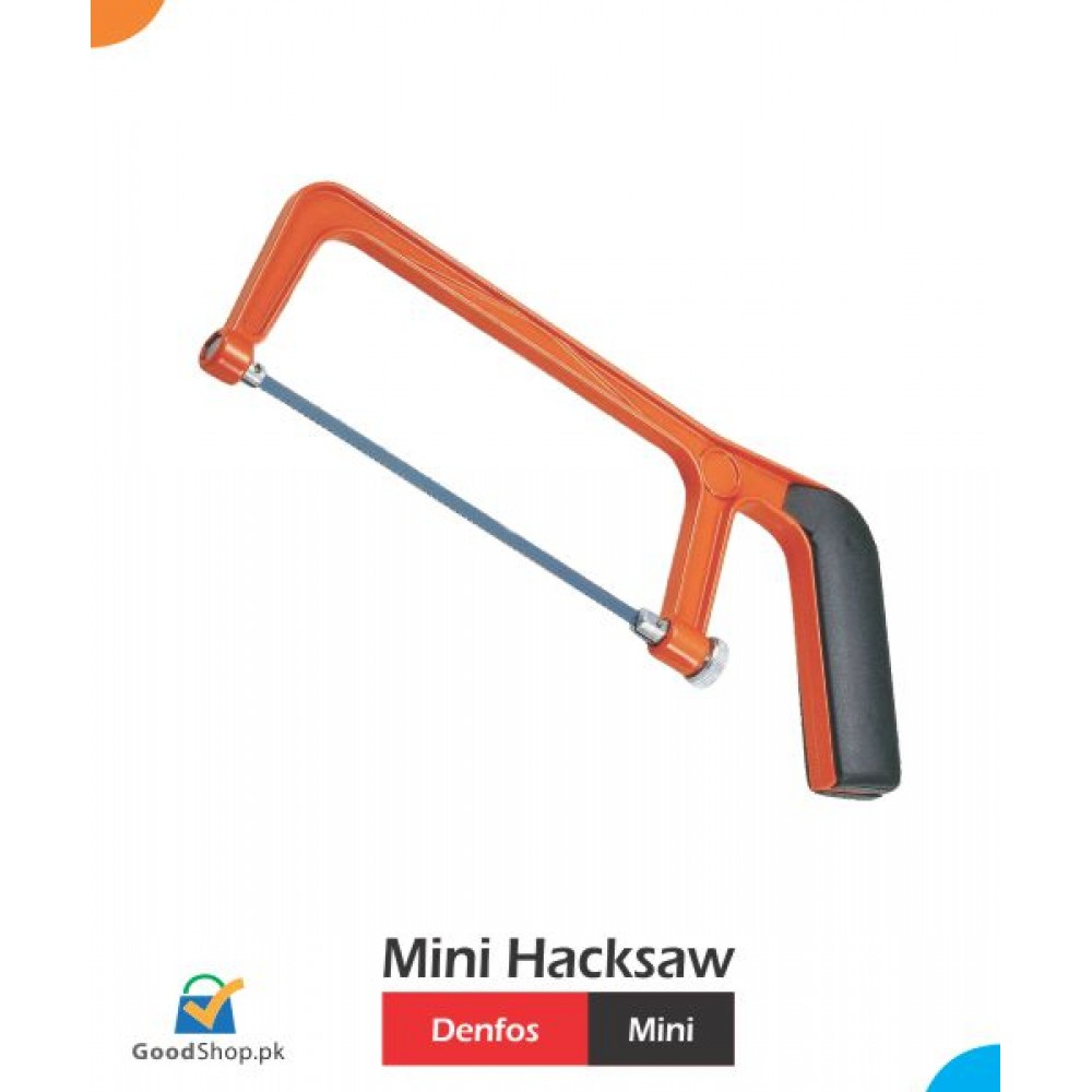Mini Hacksaw Frame and Blade from Online Hardware Store Pakistan
