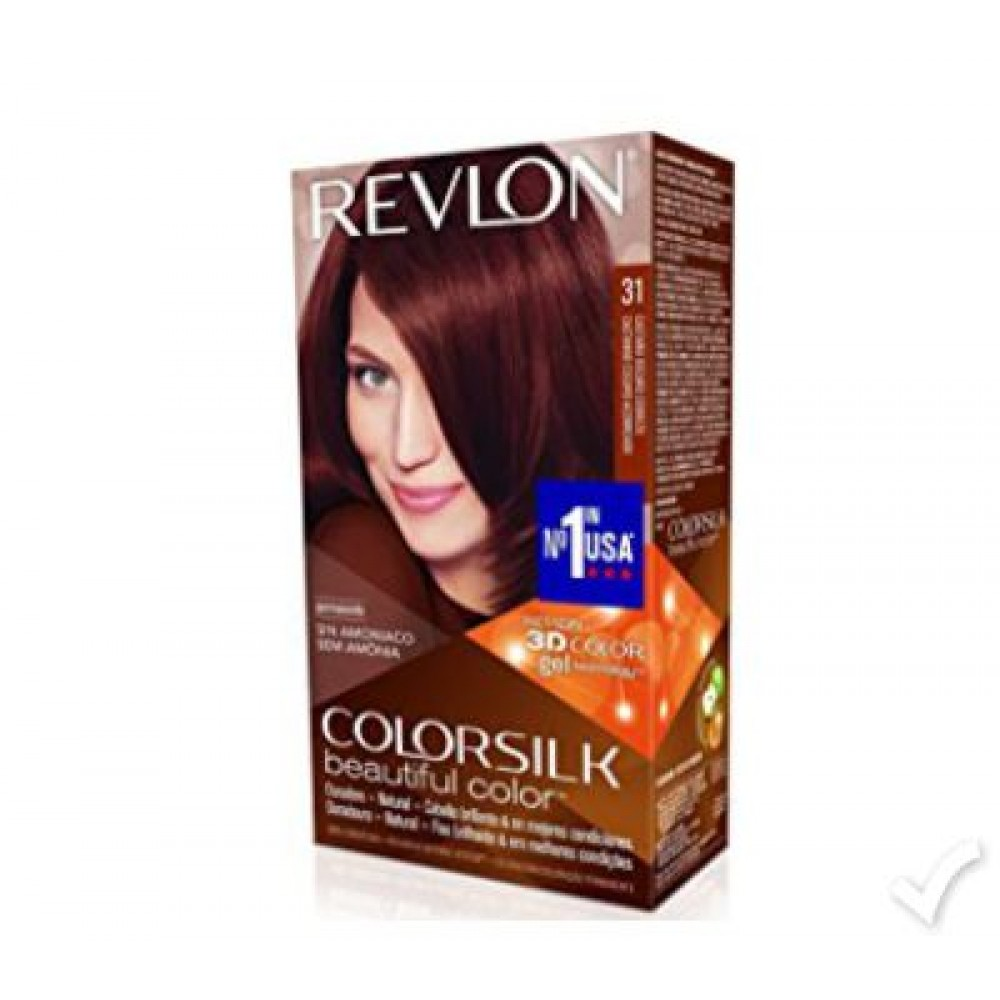 Revlon Color Silk Dark Auburn Hair Color 31 Revlon Hair Color