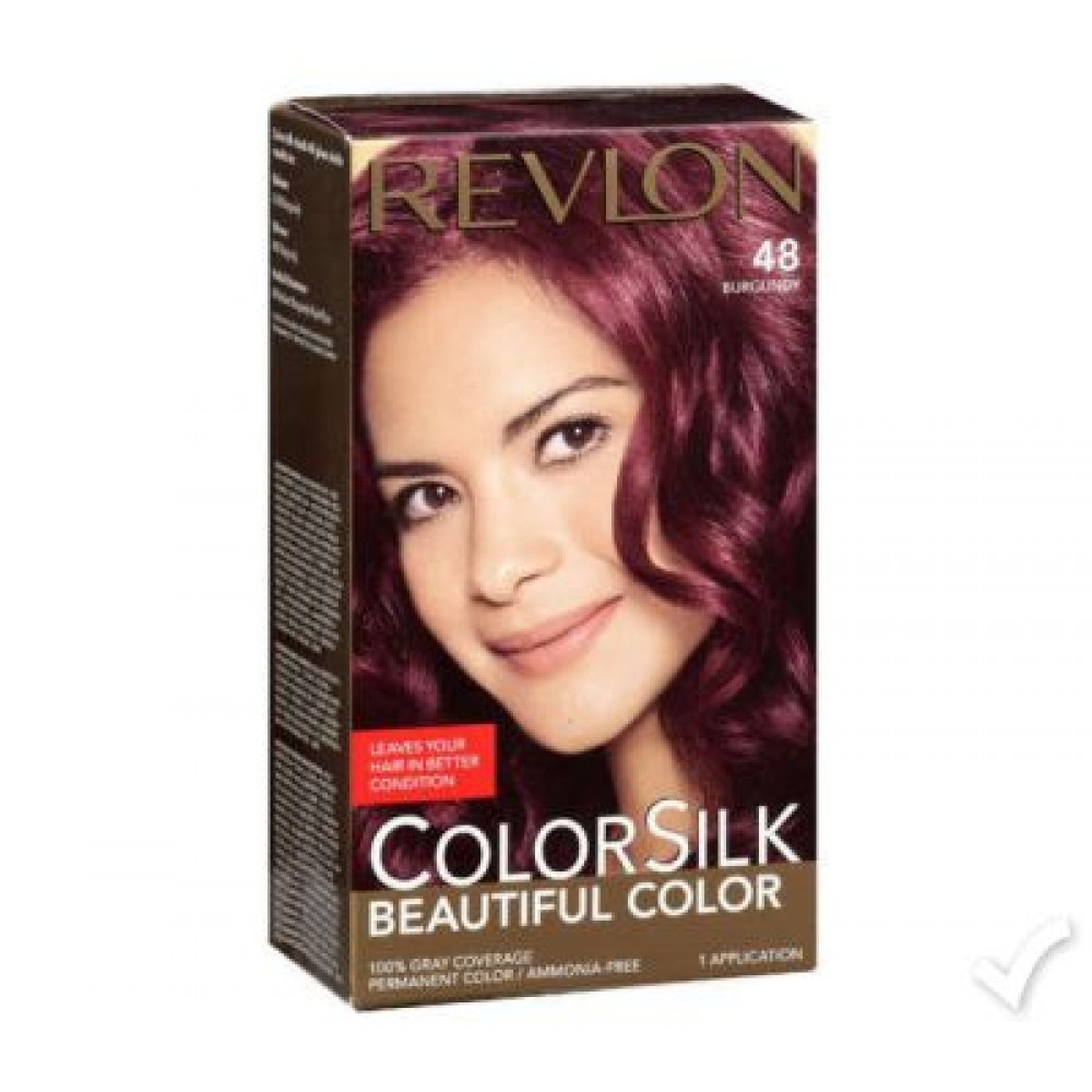 Revlon Color Silk Burgundy Hair Color 48 Revlon Hair Color Price