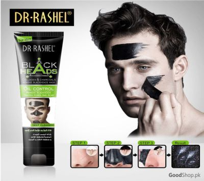 Dr.Rashel Blackhead Remove Charcoal Mask - Men