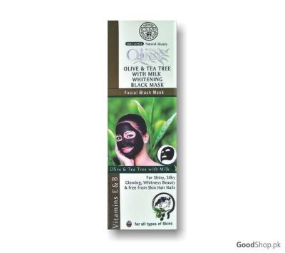 Olive Facial Black Mask With Tea Tree - Wc777D