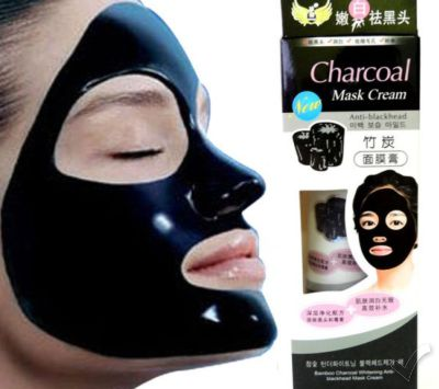 Bamboo Charcoal Anti-Blackhead Black Mask Cream