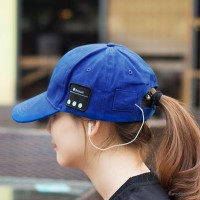 Bluetooth Cap With Built-In Mic & Hands Free