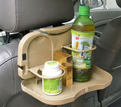 Car Backseat Tray For Drinks And Eatables