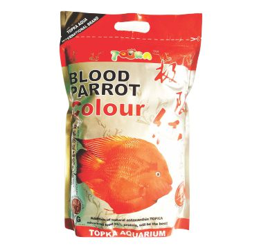 Blood Parrot Colour Fish Food - 500G