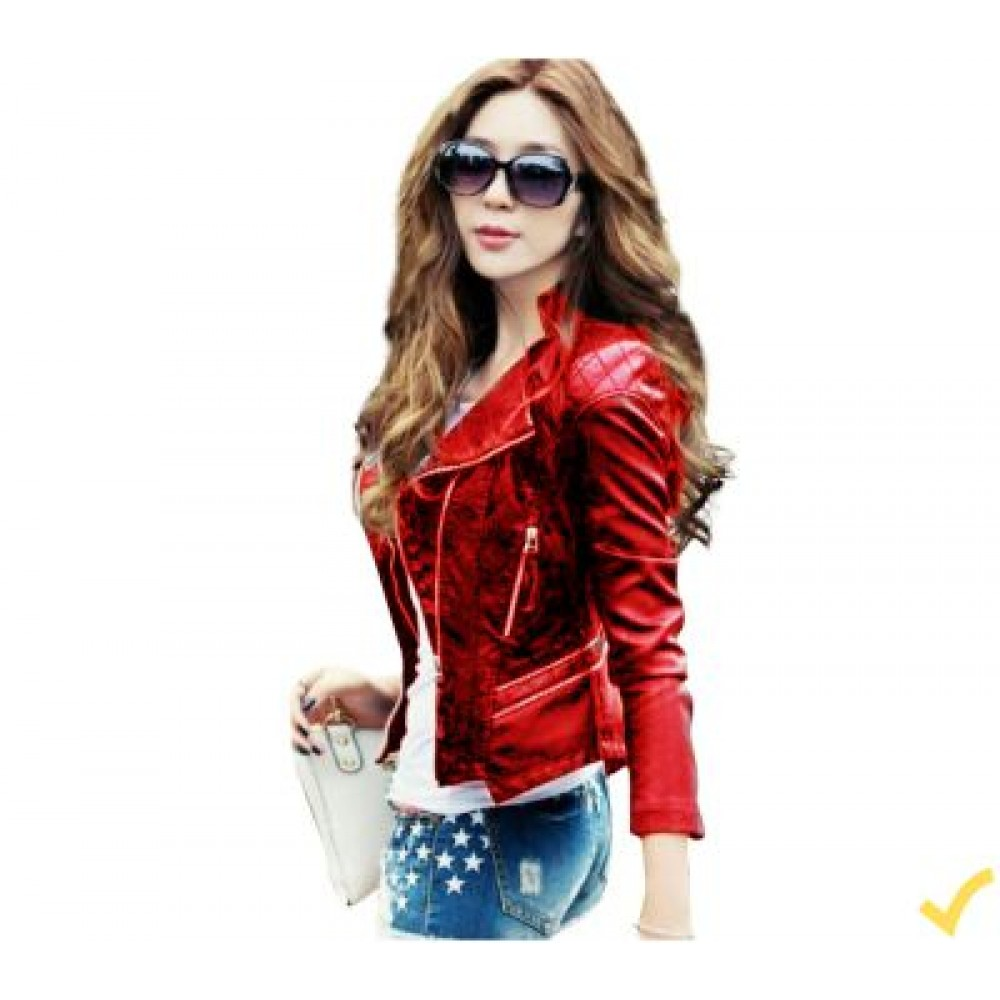 4191fddf3430 High Street Faux Leather Jacket For Women in Pakistan online ...