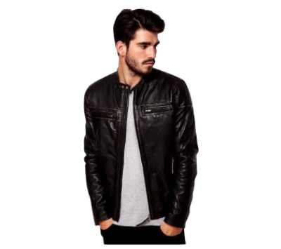 Black Leather Jacket - Highstreet Style