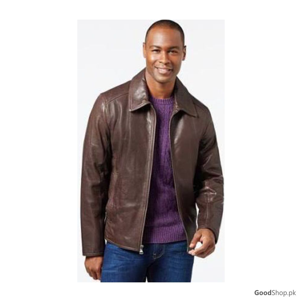 Men Original Leather Jacket Brown Style Leather Jackets Brands In