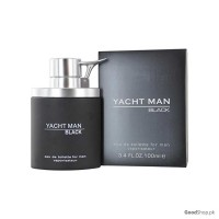 Yacht Man Black Cologne By Myrurgia For Men