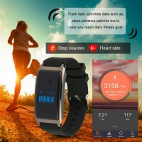 Fitbit Md8 Smart Watch With Heartbeat Monitor